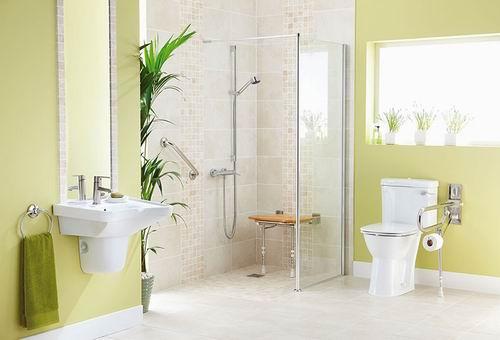 Wyposażenie łazienki W Domu Seniora Domy Starości Domy